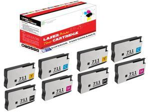 ReInkMe Compatible L0R10A 981X Magenta Ink Cartridge for HP PageWide 586f 586z
