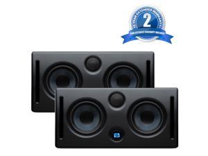 PreSonus Eris E44 Active MTM Near Field Monitor (Pair) With 2 year Extended warranty.
