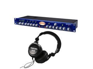 PreSonus Studio Channel Vacuum-Tube Channel Strip. With Tascam TH02.