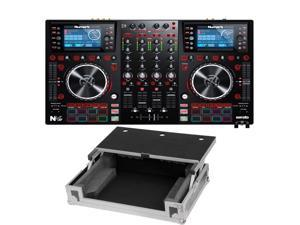 Numark NVII for Serato DJ with Intelligent Dual-Display Screens & Touch-Capacitive Knobs. FREE CASE.