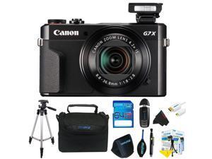 Canon PowerShot G7 X Mark II Digital Camera + Pixi-Advanced Accessory Kit