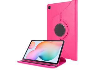 360 Degree Rotating PU Leather Tablet Stand Smart Case Cover for Samsung Tab S6 Lite Case P610 Case P615 Case