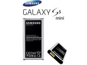 Original OEM Samsung Galaxy S5 Mini Replacement Battery with NFC, 4 Connectors, SM-G800/F/H/A,  EB-BG800BBU/E,  2100mAh