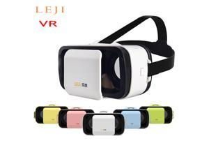 """Mini VR BOX Virtual Reality 3D Glasses with Bluetooth Remote Controller for All Android & iOS Smart Phones, Support all 4.5"""" to 5.5"""" inches Smart Phones"""