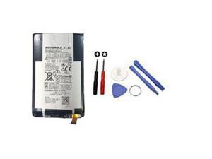 Motorola Moto X Play 3a Dual Droid Maxx 2 Replacement Battery with Tools Set, XT1562 XT1563 XT1565, FL40, 3425mAh