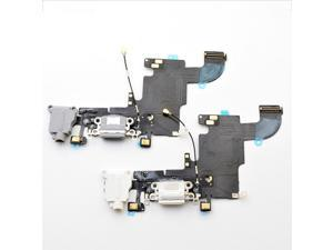 New OEM USB Charging Port Cable Audio Jack Microphone Flex Cable for iPhone 6 6G