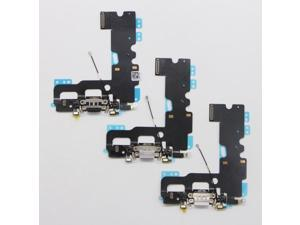 New USB Charging Port Cable Audio Jack Microphone Flex Cable for iPhone 7 Plus