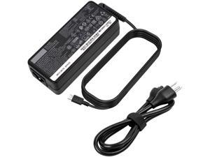 AC Charger Fit for Lenovo Thinkpad X1T470 T470S T480 T480S T490 T490 T495 T495S ADLX65YDC3A ADLX65YCC3A ADLX65YLC3A 65W USB Type C Laptop Power Supply Adapter Cord