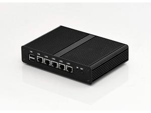 New Cheap Celeron J1900 Quad Core Firewall PC Fanless PC Nano PC with 2G RAM 64G SSD Multi LAN 4 Nic for Network Security Application,VGA USB Pfsense