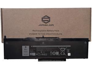 JIAZIJIA VG93N Laptop Battery Replacement for Dell Latitude 15 5580 5590 5591 E5580 E5590 E5591 Precision 15 3520 3530 M3520 M3530 Series Notebook WFWKK 0WFWKK Black 11.4V 92Wh 7666mAh