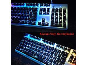 104 Keys Gaming Backlit Keycap for Corsair K70 K65 K68 RGB K95 Platinum RGB Strafe Mechanical Keyboards