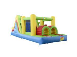 YARD Inflatable Bounce House Obstacle Course Bouncer With Blower
