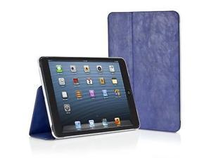 XtremeMac MicroFolio Leather Case for iPad Mini 1/2 (Blue)