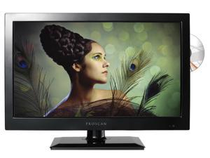 "PROSCAN PLEDV1945A 19"" LED HDTV with Built-In DVD Player (Black) - New"