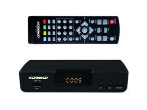 KORAMZI HDTV Digital TV Converter Box ATSC with USB Input for Recording and Media Player (Latest Edition) CB-107