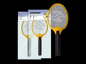 Bug Zapper Racket Fly Swatter Mosquito Killer, Zap Mosquito Best for indoor and Outdoor Pest Control Koramzi F2 Yellow - New