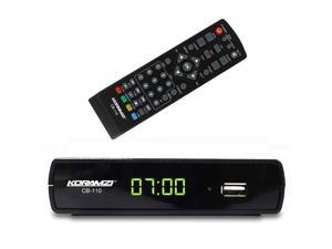 Koramzi CB-110 Digital TV Converter Full HD,USB, Time Shift Function, Dolby, USB Recording with Remote Control
