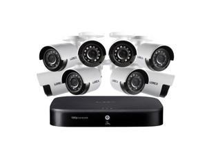 Lorex 1080p HD 8-Channel Security System with 1TB HDD DVR & 8x 1080p HD Cameras