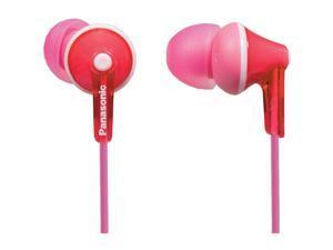 Panasonic Pink Ergo Fit In Ear Headphones