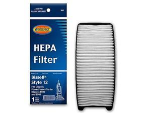 EnviroCare Replacement HEPA Vacuum Filter for Bissell Style 12 Uprights