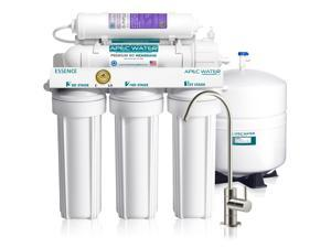 APEC Top Tier Alkaline Mineral pH+ 75 GPD 6-Stage Ultra Safe Reverse Osmosis Drinking Water Filter System (ESSENCE ROES-PH75)