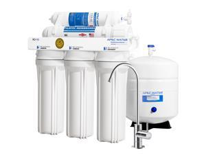 APEC RO-90 Top Tier Supreme Certified 90 GPD High Output Ultra Safe Reverse Osmosis Drinking Water Filter System