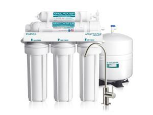 APEC Top Tier ROES-50 5-Stage Ultra Safe Reverse Osmosis Drinking Water Filter System