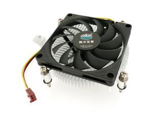 Cooler Master H115 Low-Profile CPU Cooler - 80mm Slim Cooling Fan & Heatsink - For Intel Socket LGA 1150 / 1151 / 1155 / 1156