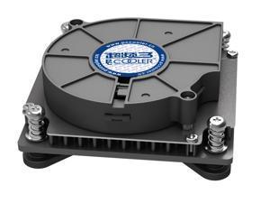 PC Cooler C81H Slim CPU Cooler Turbo Blower Cooling Fan For 1U Server / HTPC  Intel CPU Socket LGA1156 / LGA1155