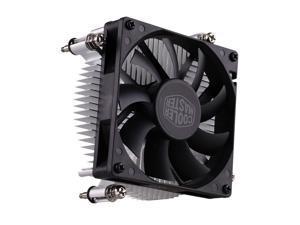 Cooler Master H116 (Copper Core) Low-Profile CPU Cooler - 80mm Slim Cooling Fan & Heatsink - For Intel Socket LGA 1150 / 1151 / 1155 / 1156