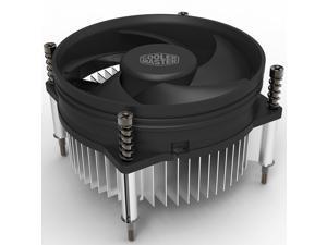Cooler Master i30 CPU Cooler - 92mm Low Noise Cooling Fan & Heatsink - For Intel Socket LGA 1150 / 1151 / 1155 / 1156