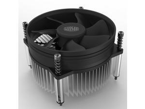 Cooler Master i50 CPU Cooler - 92mm Low Noise Cooling Fan & Heatsink - For Intel Socket LGA 1150 / 1151 / 1155 / 1156
