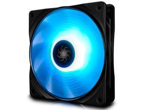 DEEPCOOL RF120M Ultra Quiet intelligent PWM Fan 6 high brightness RGB LED Lights Motherboard Sync
