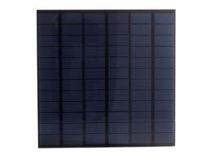 4.5W 18V 250mA Solar Panel Charger Epoxy Coated Monocrystalline Sunpower Bank