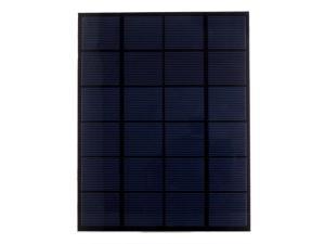 5.5W 6V 860mA Solar Cell Solar Panel Epoxy Coated Monocrystalline Power Bank