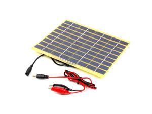 5W 18V 270mA Polycrystalline Solar Panel Solar Cell For 12V Car Battery Charger