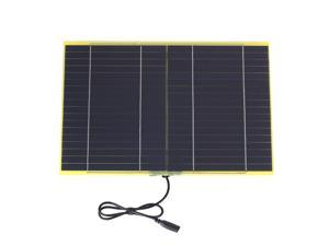 10W 18V 550mA Portable Solar Cell Solar Panel For 12V Car Boat Battery Charger