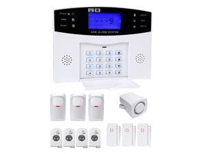 YA-500-GSM-25 Smart Home Wireless Security 433 Mhz GSM Alarm System with Voice Alarm SMS Alarm