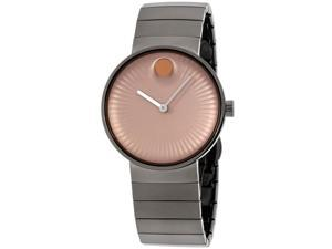 Movado 3680023 Edge Grey Stainless Steel Mens Watch