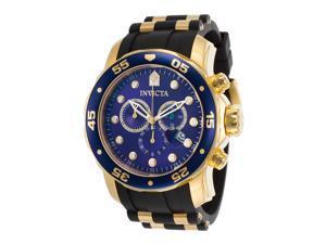Invicta Men's Pro Diver 17882  Stainless Steel, Polyurethane Chronograph Watch