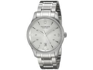 Victorinox Swiss Army Men's Alliance 241712 Silver Stainless-Steel Swiss Quartz Watch