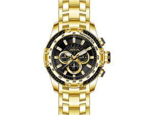 75eca36de Invicta Men's 25944 Speedway Quartz Chronograph Black Dial Watch
