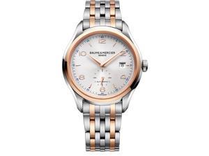 Baume & Mercier Men's Clifton 41mm Steel Bracelet & Case Automatic Watch 10140