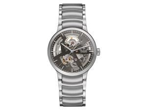 Rado Men's Centrix 38mm Steel Bracelet & Case Automatic Analog Watch R30179113