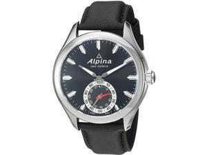 Alpina Men's Smartwatch 44mm Leather Band Swiss Quartz Watch AL-285BS5AQ6