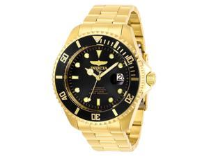 Invicta Men's PRO DIVER Gold-Tone Steel Bracelet & Case Automatic Watch 28948