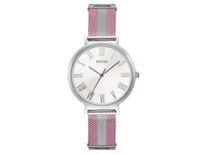 GUESS Women's 38mm Two Tone Steel Bracelet Steel Case Quartz Watch W1155L5