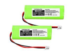 DT Systems EDT-202 Dog Collar Battery Combo-Pack includes: 2 x SDDC-H1102 Batteries