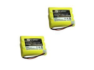 GE 21008GE2 Cordless Phone Battery Combo-Pack incl.: 2xSDCP-C308 Batteries
