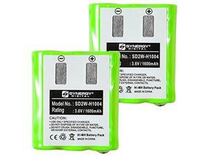 Motorola KEBT-650 2-Way Radio Battery Combo-Pack includes: 2 x SD2W-H1004 Batteries